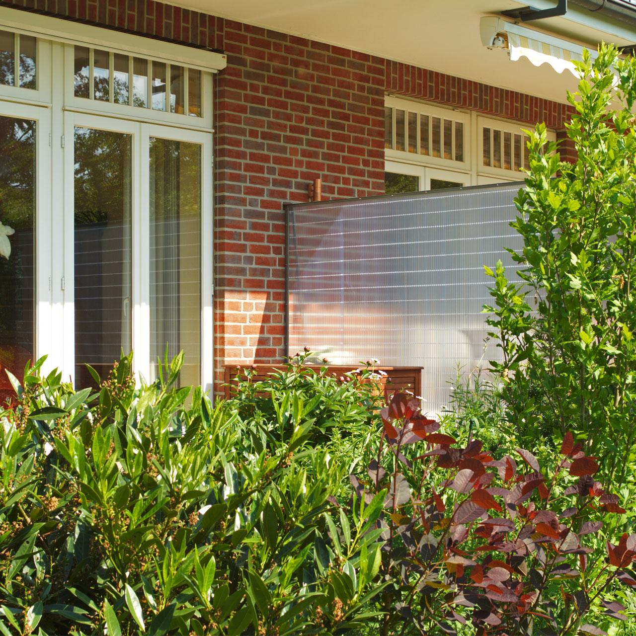 Sichtschutzmatte Pvc Kunststoff Sunline Transparent Sichtschutz