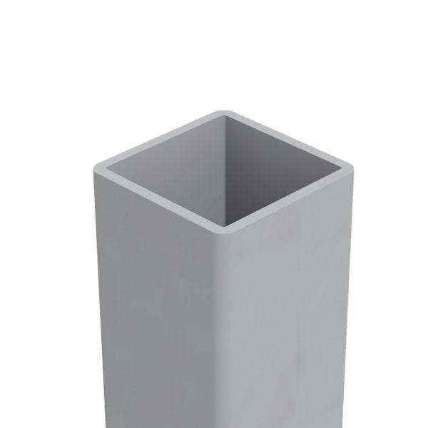 ALU-Pfosten 6x6, matt, Aufdübeln