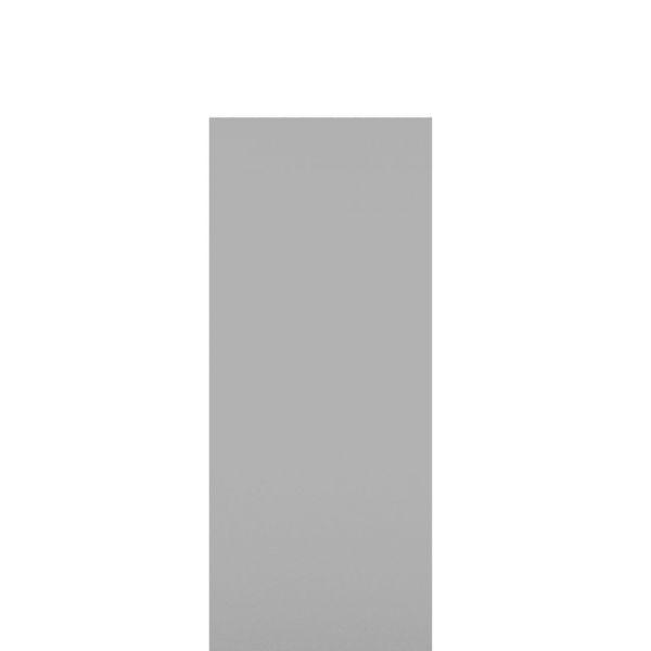 Einzelprofil für HPL-Steckzaun Premium, grau