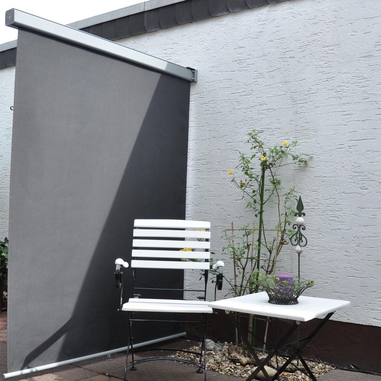 Balkon Seitenmarkise Lange 200cm Breite 120cm Balkonerlebnis De