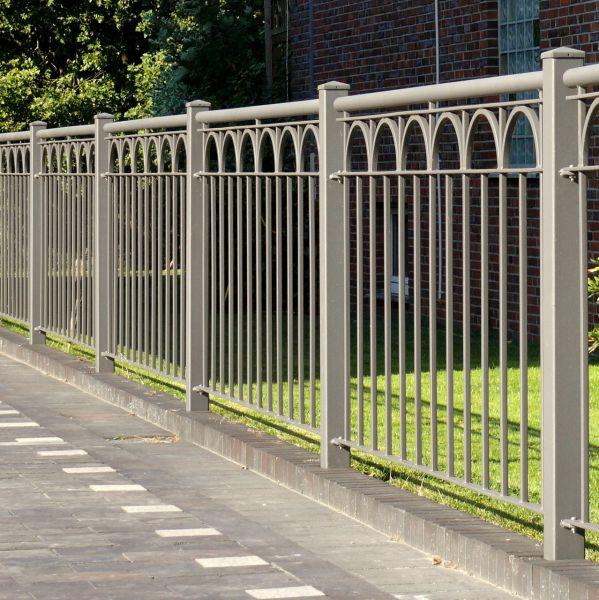 Zaunelement - Metallzaun Goethestraße H: 120 cm