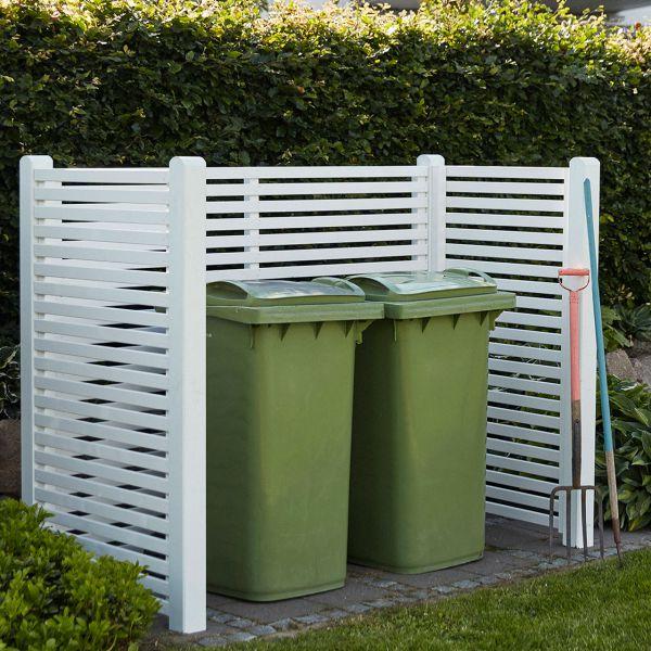 Mülltonnenverkleidung Holz Toyko