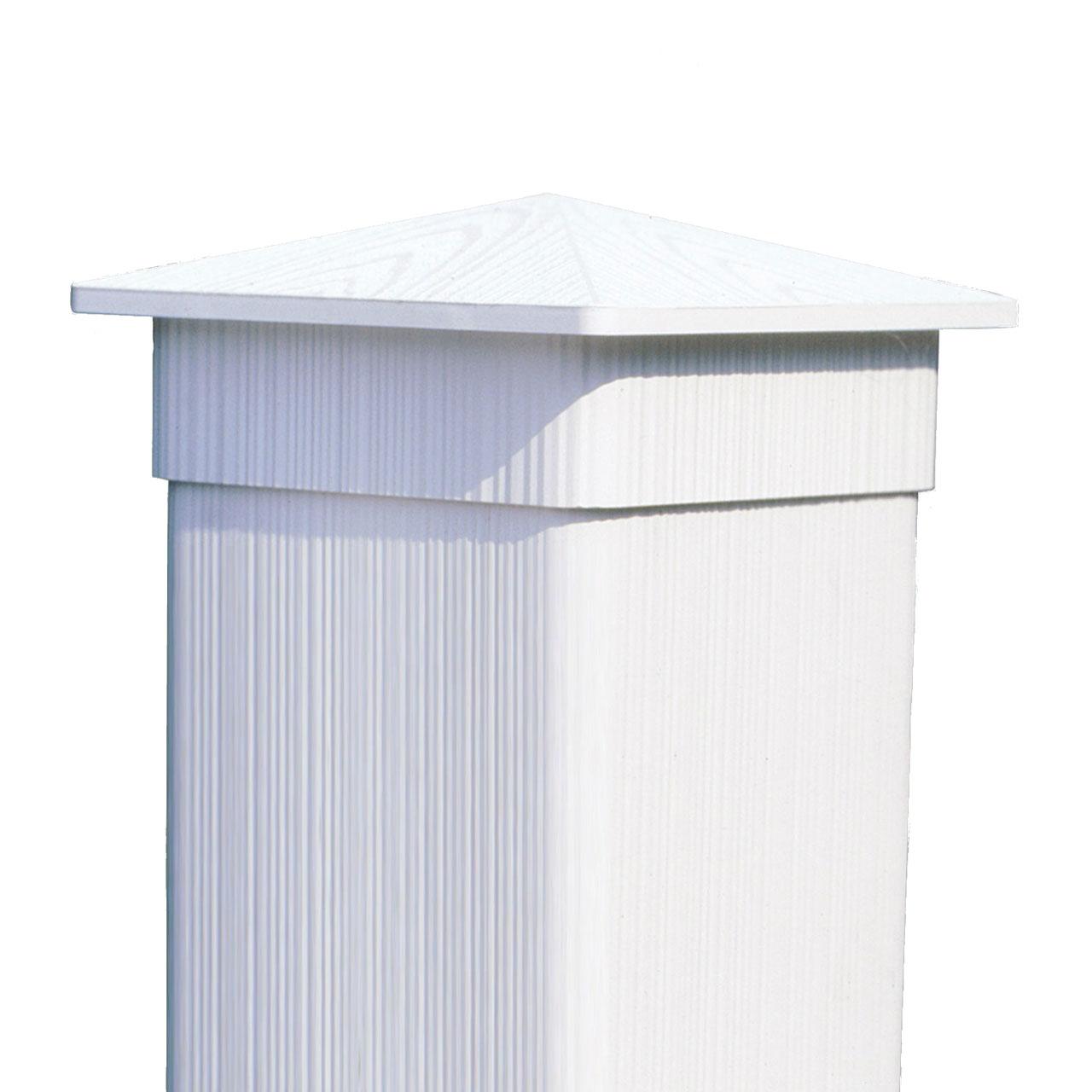 kunststoff pfosten 10x10cm coventry wei gr n oder. Black Bedroom Furniture Sets. Home Design Ideas