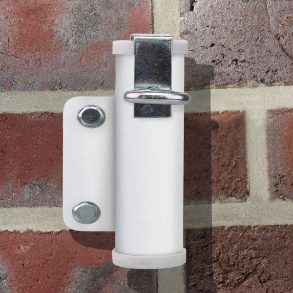 Sonnenschirmhalter Videx® für die Wand, weiß