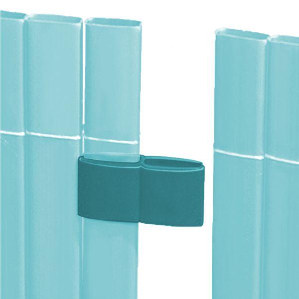 Mattenverbinder für Sichtschutzmatte Rügen, azur
