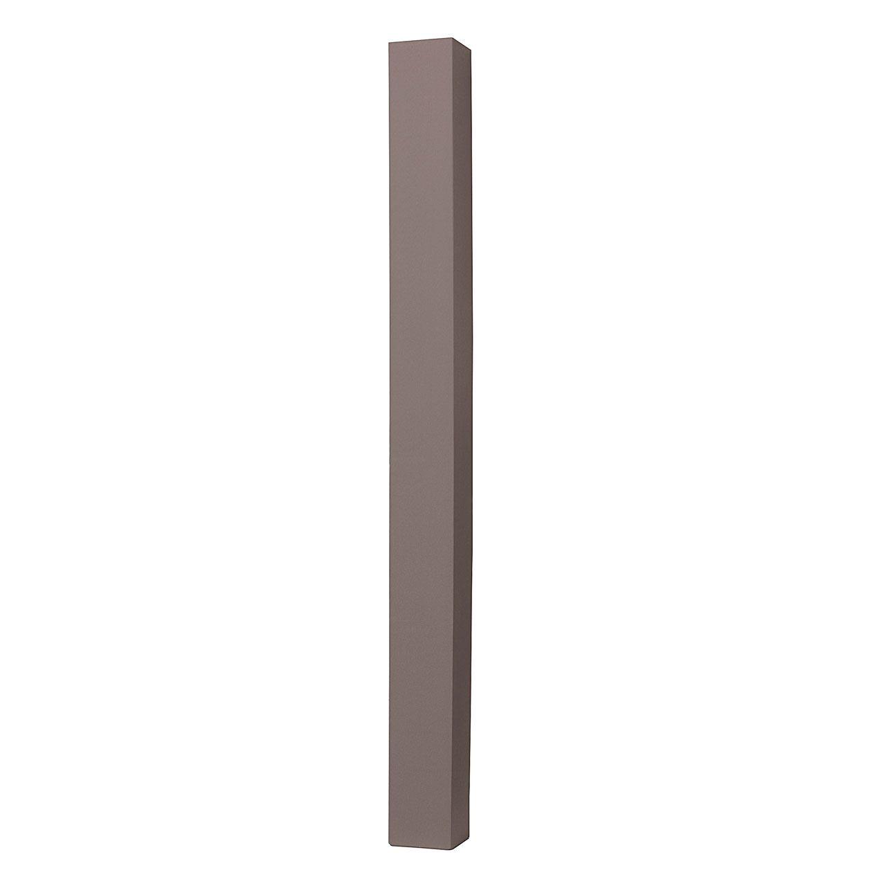 WPC Pfosten 8x8cm Stahlkern anthrazit