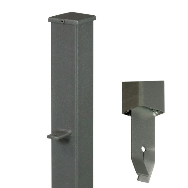 Endpfosten quadratisch, H: 150cm