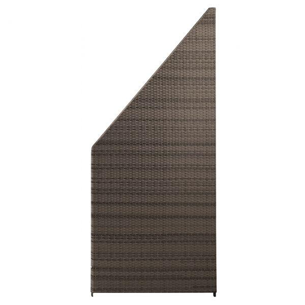 Sichtschutzwand Kunststoff-Geflecht, Ambience braun bicolor