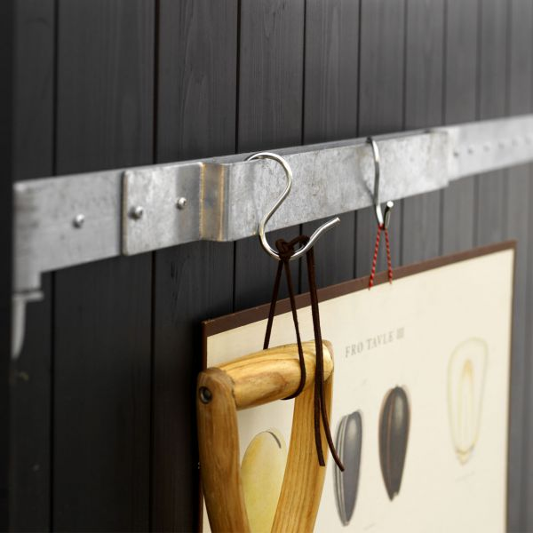 2 Stahlbügel mit 8 Haken für PORT-Elemente, ca. 40cm