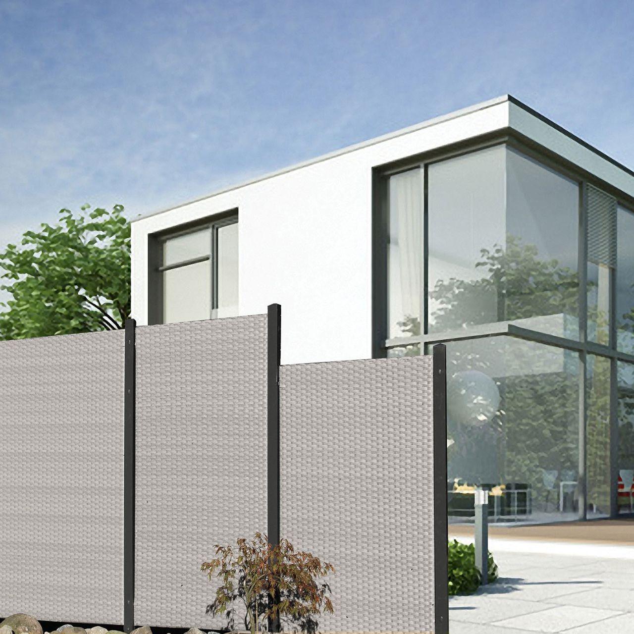 sichtschutz stoff terrasse finest with sichtschutz stoff terrasse amazing ein simpler. Black Bedroom Furniture Sets. Home Design Ideas