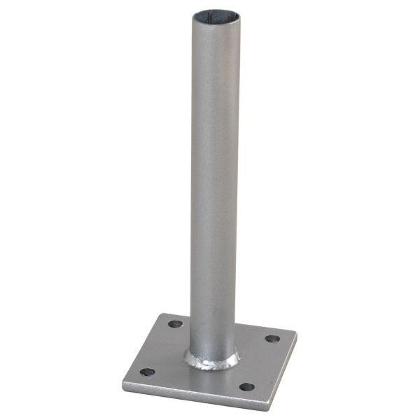 Metallfuß für WPC-Pfosten mit Stahlkern