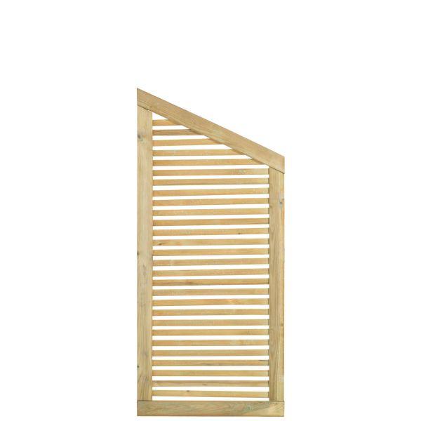 Sichtschutzwand Holz, Silence druckimprägniert