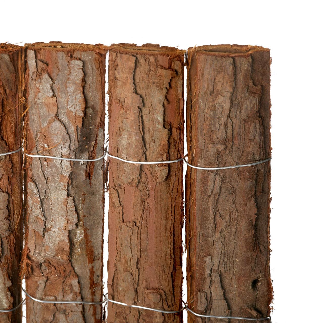 Sichtschutzzaun Rindenmatte Bretagne Natur Sichtschutz Welt De
