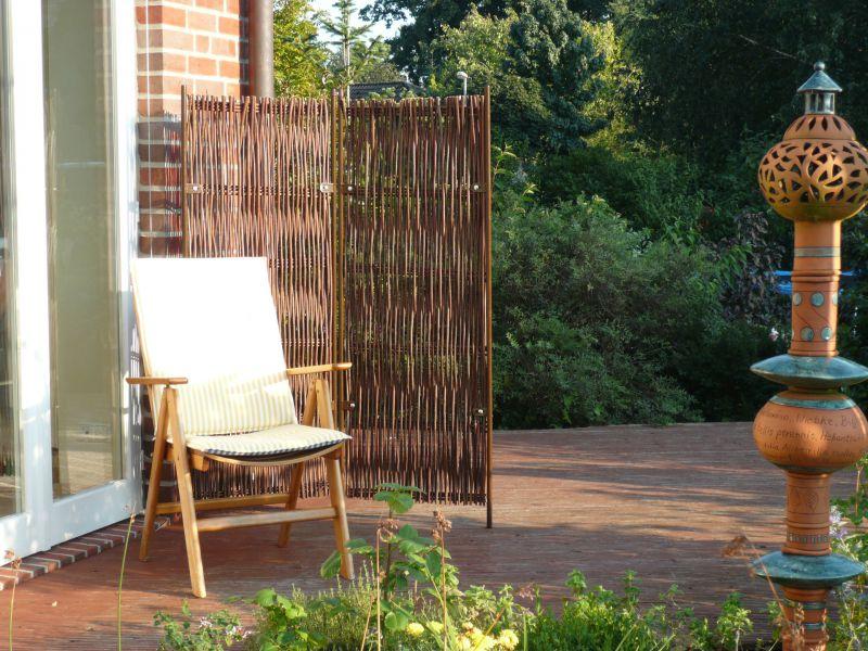 Garten Paravent Bambus