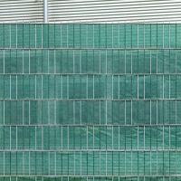PE Sichtschutzstreifen Doppelstabmattenzaun, dunkelgrün