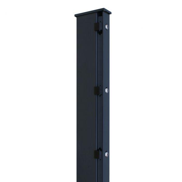 Zaunpfosten für Sichtschutzstreifen 200cm, anthrazit
