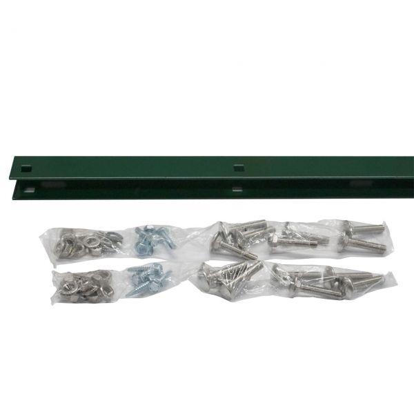 Zaunanschluss-Set Zaunhöhe 143 cm, grün