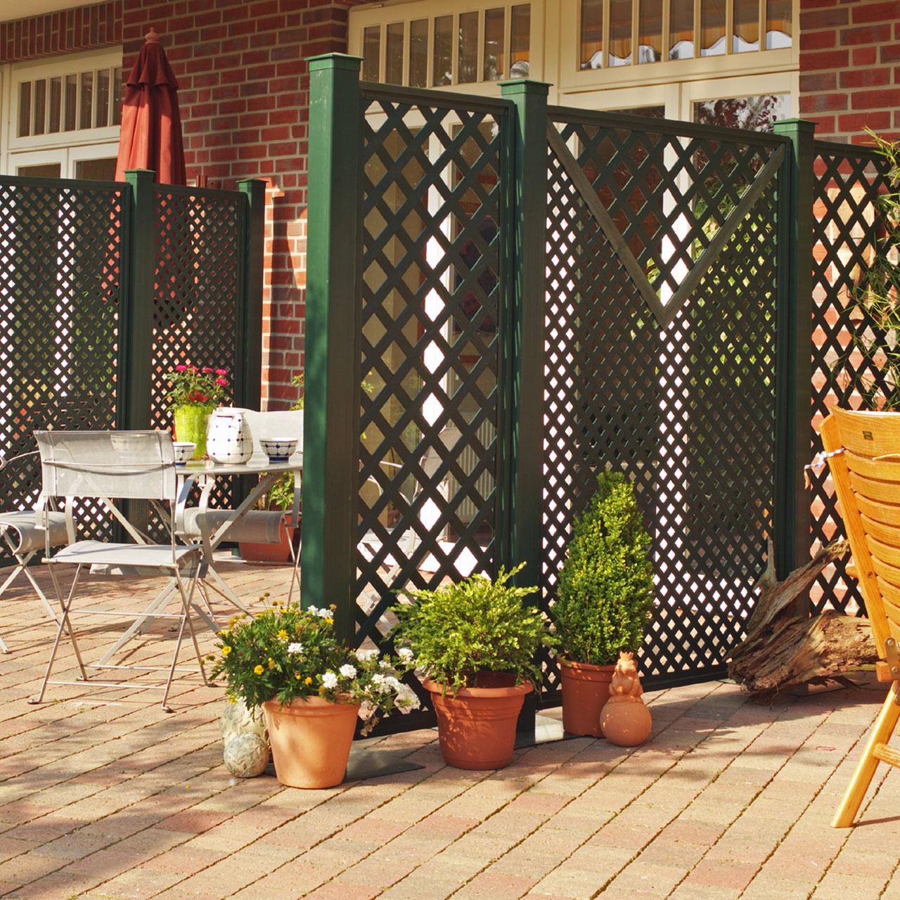 sichtschutzwand kunststoff coventry classic sichtschutz. Black Bedroom Furniture Sets. Home Design Ideas