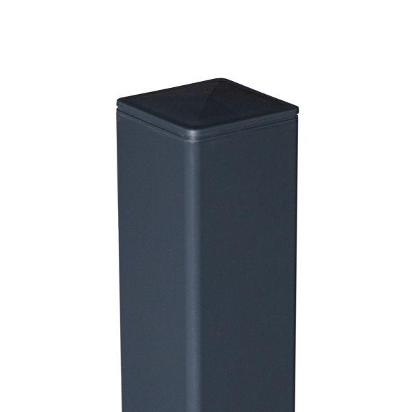 ALU-Pfosten 6x6 cm, anthrazit