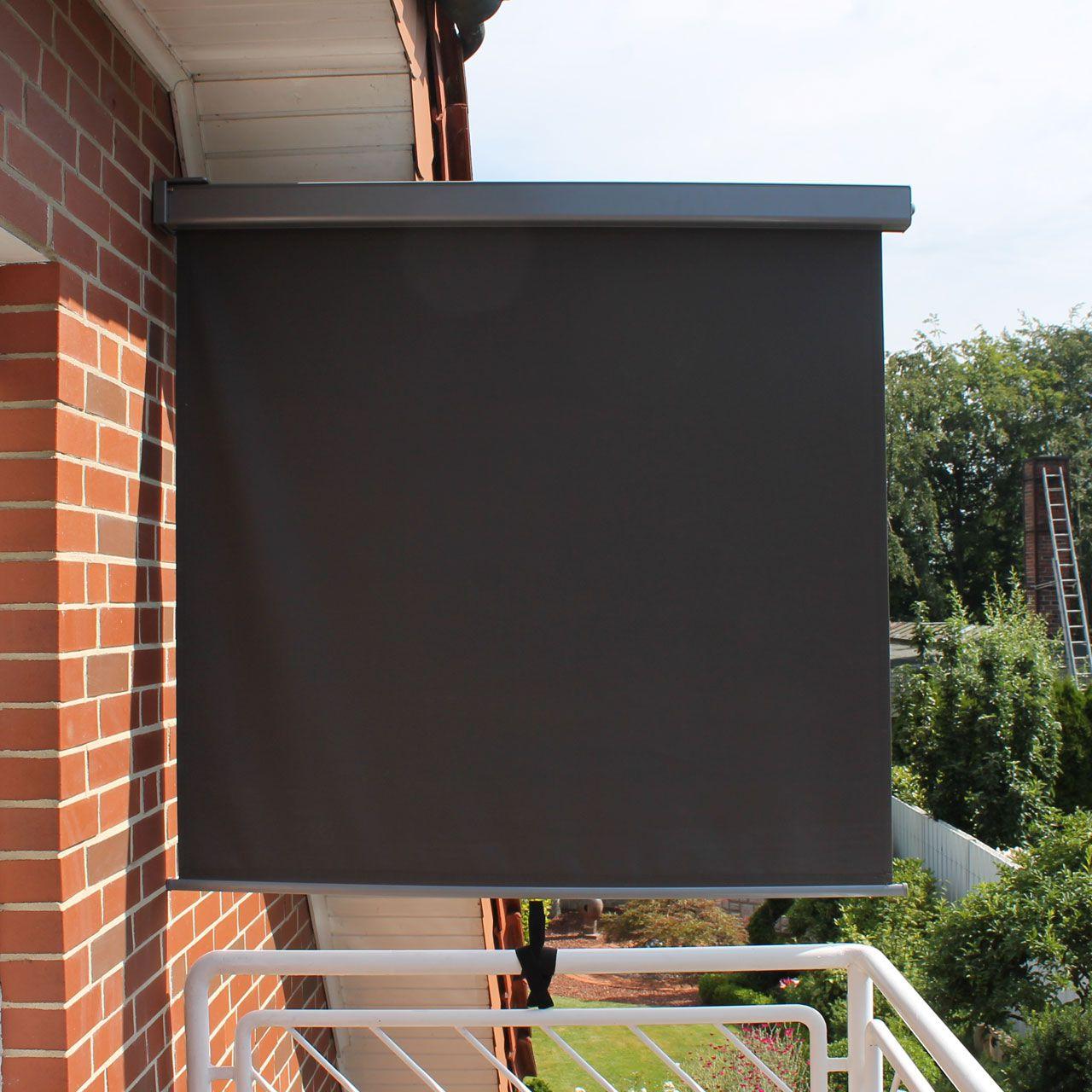 Balkon Seitenmarkise Länge 200cm Breite 150cm