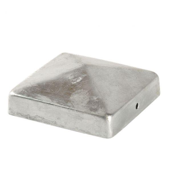 Pfostenkappe Pyramide feuerverzinkt 71x71mm