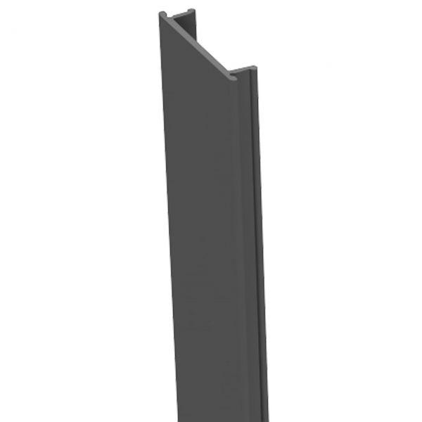 Nutlleiste für Alu-Pfosten 7x7 Steckzaun StoneFence, anthrazit