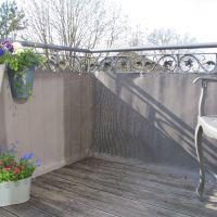 Balkonverkleidung Kunststoffgeflecht, titangrau Höhe x Breite:75 x 300 cm