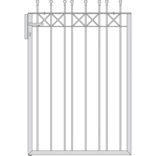 Pfortenflügel Parkallee Classic Kugel, Höhe 150 cm
