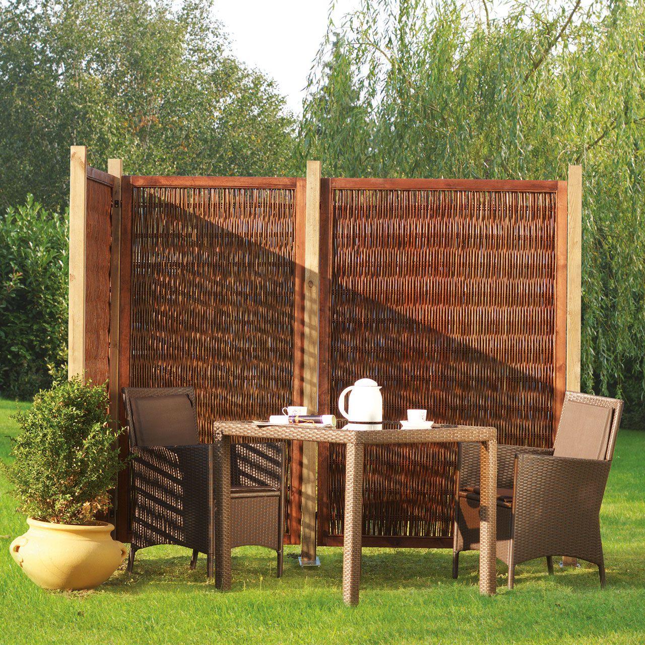 sichtschutz aus glas fur die terrasse beste home design inspiration. Black Bedroom Furniture Sets. Home Design Ideas